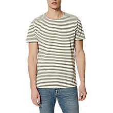 Buy Selected Homme Bret Short Sleeved Stripe T-Shirt Online at johnlewis.com