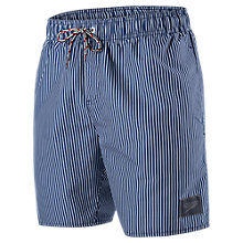 "Buy Speedo Stripe Print 16"" Watershorts Online at johnlewis.com"