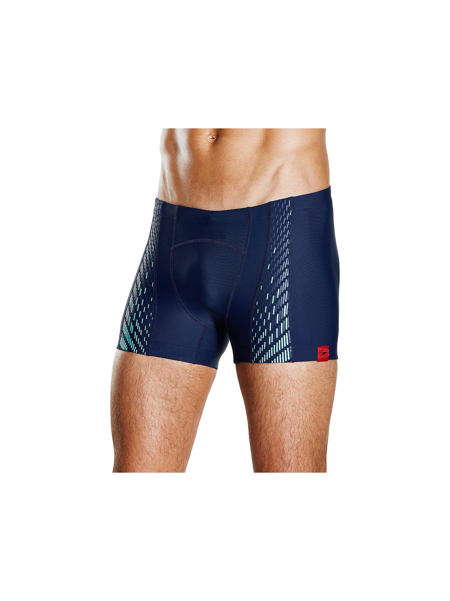 128937cb32 ... Buy Speedo Fit Power Mesh Pro Aquashort Swim Shorts,  Navy/Spearmint/Stellar, ...