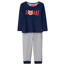 Buy Baby Joule Byron 2 Piece Pyjama Set, Navy Online at johnlewis.com