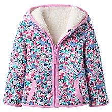 Buy Baby Joules Kitty Ditzy Reversible Fleece Hoodie Online at johnlewis.com