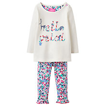 Buy Baby Joule Hello Petal Poppy 2 Piece Set, Pink/Multi Online at johnlewis.com