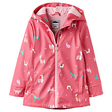 Buy Baby Joule Raindance Coat, Pink Online at johnlewis.com