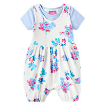 Buy Baby Joule Dolly Posy Romper & T-Shirt Set, Cream/Blue Online at johnlewis.com