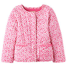 Buy Baby Joule Phoebe Quilted Jacket, Pink Online at johnlewis.com