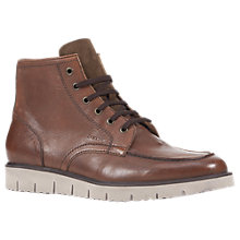 Buy Geox Pluges Lace-Up Boots, Cognac Online at johnlewis.com