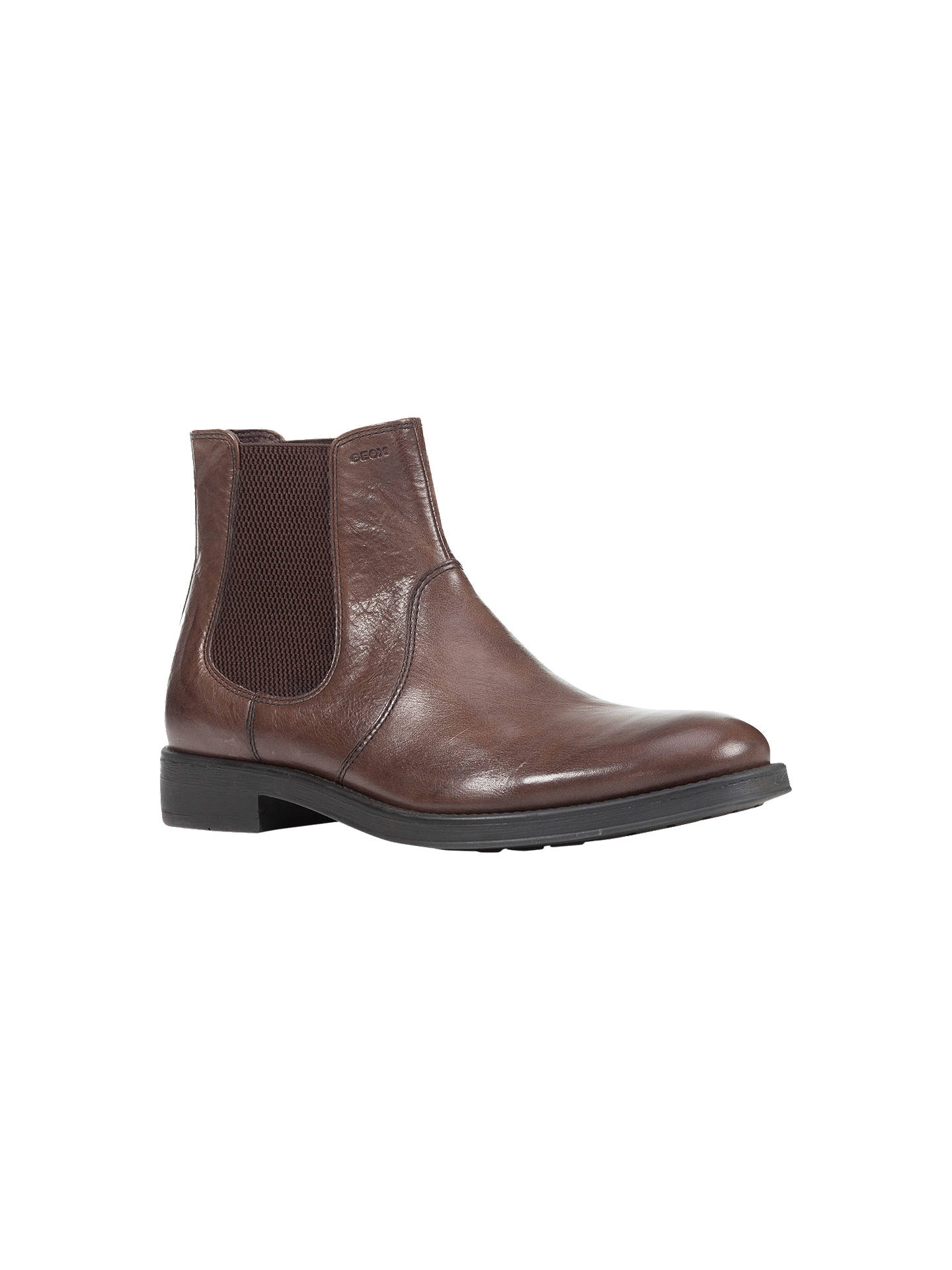 new season new varieties favorable price Geox Blaxe Leather Chelsea Boots at John Lewis & Partners