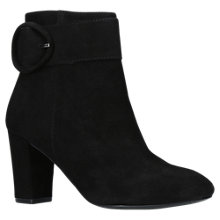 Buy Carvela Sunday Block Heeled Ankle Boots, Black Online at johnlewis.com