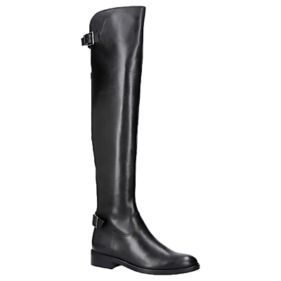 Product photo of Carvela war over the knee boots black leather