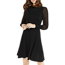 Buy Oasis Lace Sheer Sleeve Dress Online at johnlewis.com