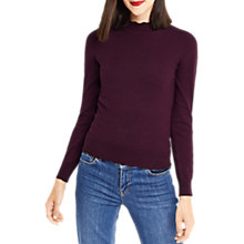 Buy Oasis Mini Scallop Turtle Neck Jumper Online at johnlewis.com