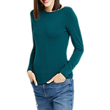 Buy Oasis Envelope Neck Top Online at johnlewis.com