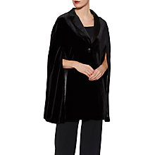 Buy Gina Bacconi Lindsay Velvet Tuxedo Jacket, Black Online at johnlewis.com