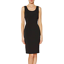 Buy Gina Bacconi Sienna Crepe Dress, Black Online at johnlewis.com