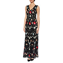 Buy Gina Bacconi Lucy Beaded Maxi Dress, Black Online at johnlewis.com