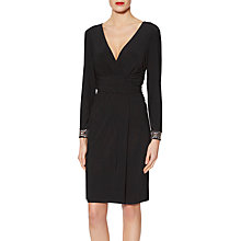 Buy Gina Bacconi Louisa Beaded Cuff Dress Online at johnlewis.com