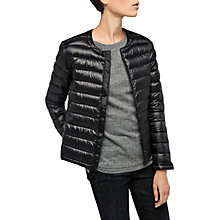 Buy Gerard Darel Gisele Coat, Black Online at johnlewis.com