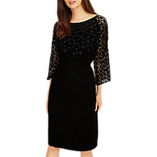 Buy Phase Eight Nikita Embellished Dress, Black Online at johnlewis.com