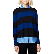 Buy Compañía Fantastica A-Line Jumper, Blue Online at johnlewis.com