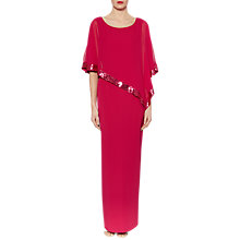 Buy Gina Bacconi Tiffany Sequin Trim Crepe Maxi Dress Online at johnlewis.com
