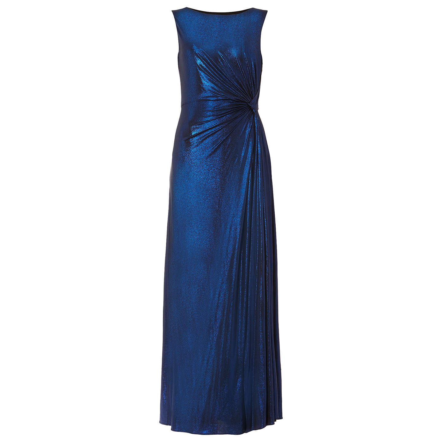 BuyPhase Eight Caro Shimmer Full Length Dress, Cobalt, 6 Online at johnlewis.com