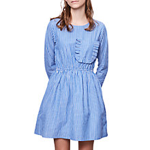Buy Compañía Fantastica Striped Dress, Blue Online at johnlewis.com