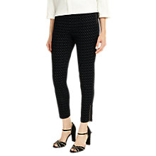 Buy Phase Eight Lara Oval Flock Jeggings, Midnight Online at johnlewis.com