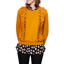 Buy Compañía Fantastica Sweatshirt, Mustard Online at johnlewis.com