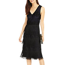 Buy Phase Eight Bailey Fringe Dress, Midnight Online at johnlewis.com