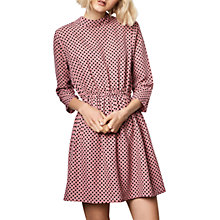 Buy Compañía Fantástica Polka Dot Print Dress, Pink/Black Online at johnlewis.com