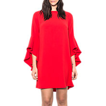 Buy Wild Pony Statement Sleeve Mini Shift Dress, Red Online at johnlewis.com