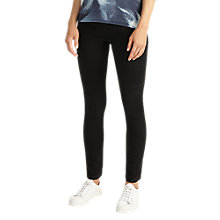 Buy Phase Eight Amina Seamed Jeggings, Washed Black Online at johnlewis.com