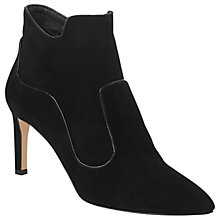 Buy L.K. Bennett Annesha Stiletto Heeled Ankle Boots, Black Online at johnlewis.com