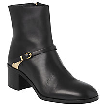 Buy L.K. Bennett Hollie Block Heeled Ankle Boots Online at johnlewis.com
