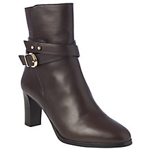 Buy L.K. Bennett Josie Block Heeled Ankle Boots Online at johnlewis.com