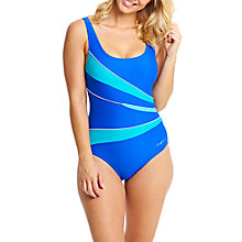 Buy Zoggs Aqua Reef Casuarina Scoopback Swimsuit, Blue Online at johnlewis.com