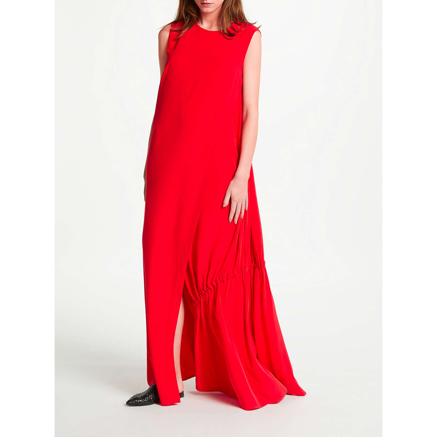 BuyModern Rarity Eudon Choi Tissot Dress, Red, 8 Online at johnlewis.com