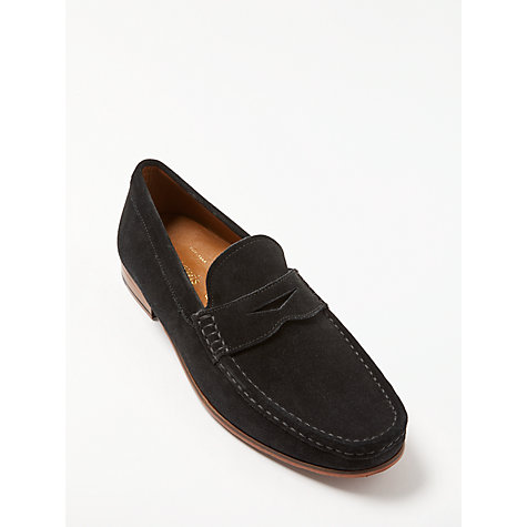 Buy John Lewis Louis Suede Penny Loafers Online at johnlewis.com