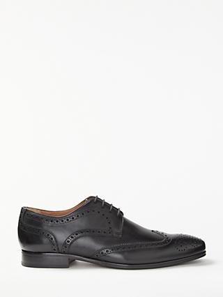 John Lewis & Partners Thomas Leather Lace-Up Brogues