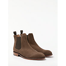 Buy John Lewis Chester Suede Chelsea Boot, Tobacco Online at johnlewis.com