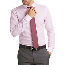 Buy HUGO by Hugo Boss C-Jason Textured Cotton Slim Fit Shirt Online at johnlewis.com