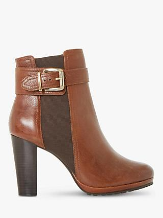 Dune Orine Block Heeled Ankle Boots