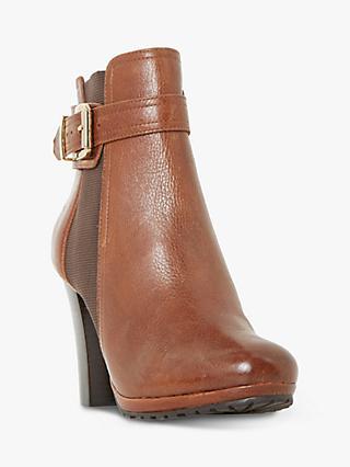 99af9321c8296 Dune Orine Block Heeled Ankle Boots