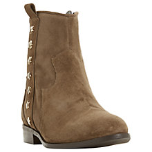 Buy Dune Picket Embellished Western Ankle Boots Online at johnlewis.com