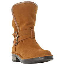Buy Dune Ramona Calf Boots, Tan Online at johnlewis.com