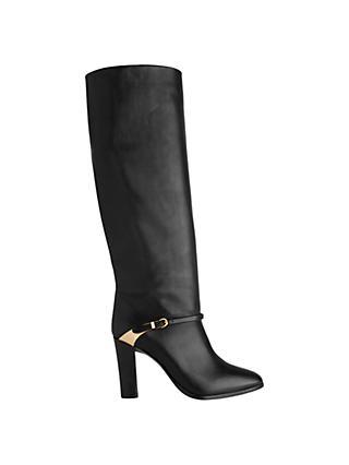 9f8daec3f720 L.K. Bennett Harlie High Block Heel Knee Boots