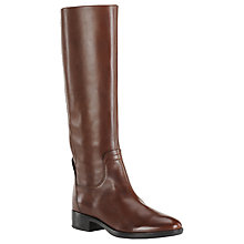 Buy Geox Felicity Knee High Boots, Brown Online at johnlewis.com