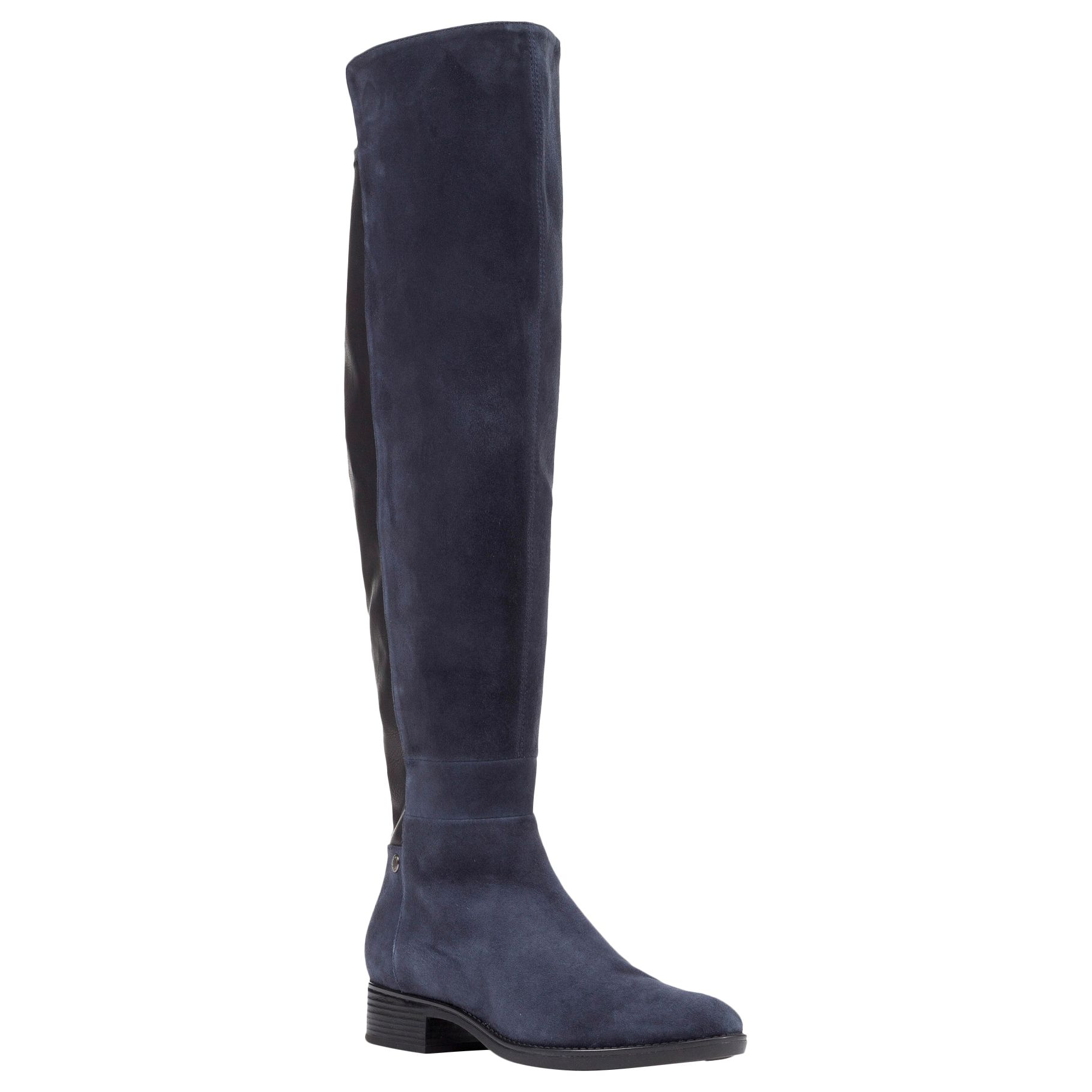 abeb8fbb33 Geox Felicity J Block Heeled Over the Knee Boots at John Lewis & Partners