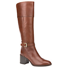 Buy Geox Glynna Block Heeled Knee High Boots Online at johnlewis.com