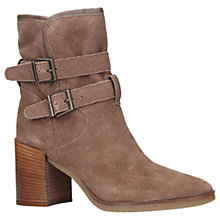 Buy KG by Kurt Geiger Buckle Block Heeled Ankle Boots Online at johnlewis.com